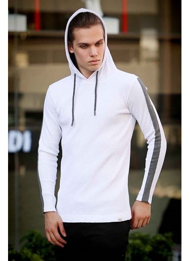 Madmext Sweatshirt Beyaz